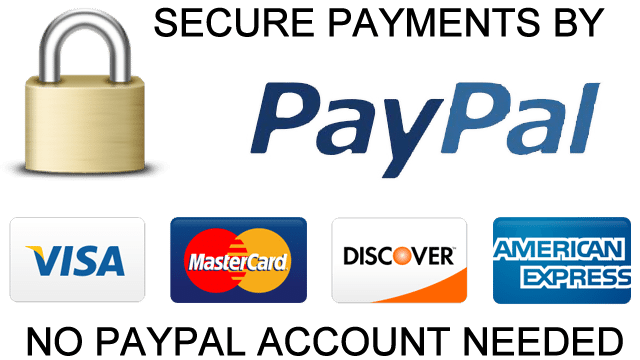 Sales-Tele Trusted Logos Secure Payments Paypal