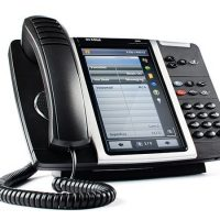 The Mitel 5360 IP phone is ideal for the enterprise executive, this desktop IP phone has a large, high-resolution touch display, superior sound