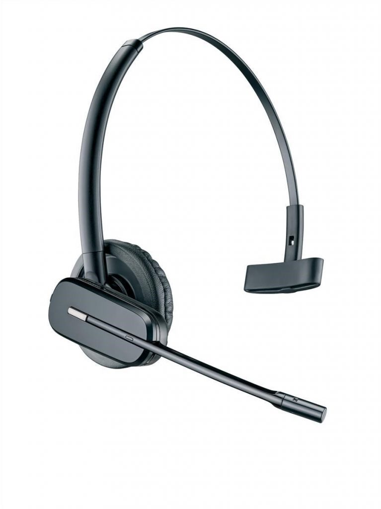 Plantronics CS540a Super Lightweight DECT Headset Black UK